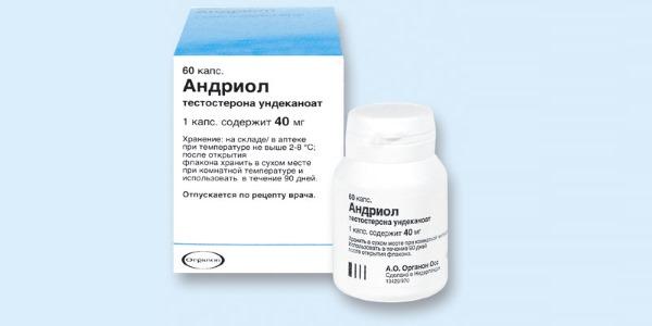 Андриол фармакокинетика