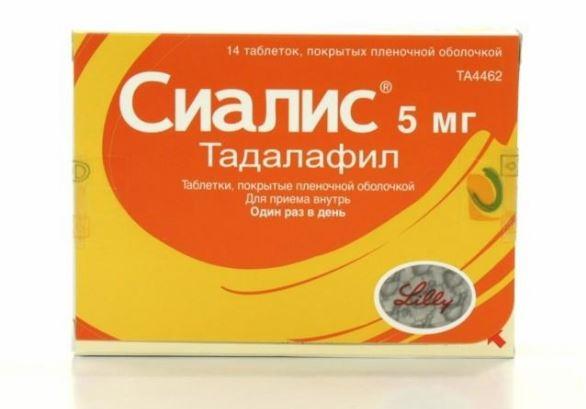 Сиалис тадалафил прием препарата