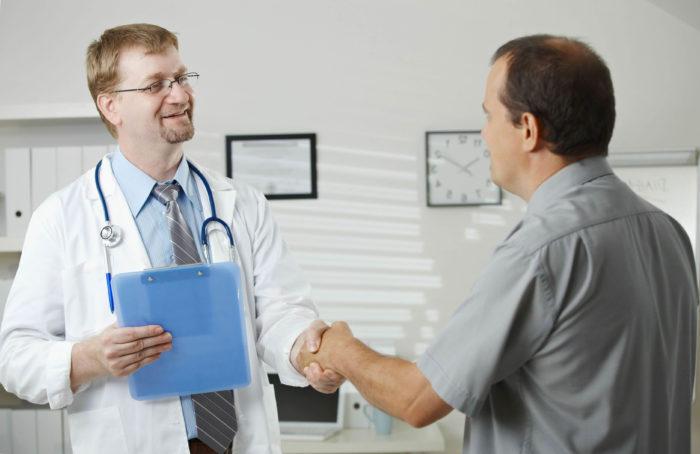 Обратится к доктору