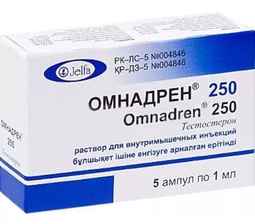 Особенности применения препарата Омнадрен для мужской силы