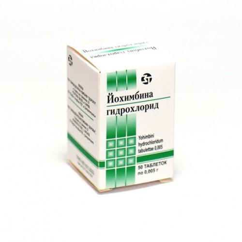 йохимбина гидрохлорид для похудения для женщин отзывы
